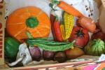 os legumes da sopa